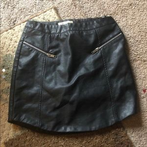 Miami Brand Leather Skirt